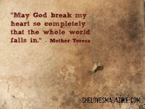 Reverberating Echoes from MotherTeresa