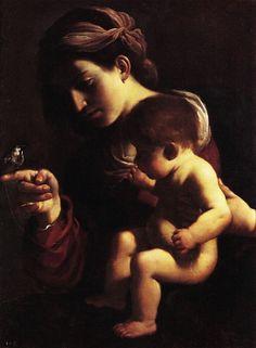 Guercino, Madonna con Bambino Bologna