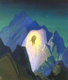Christ - Nicholas Roerich