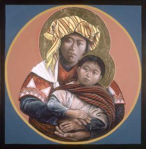 JOHN GIULIANI, Guatemalan Madonna Child
