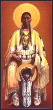 Cheyenne-virgin-and-child-by-father-John-Giuliani