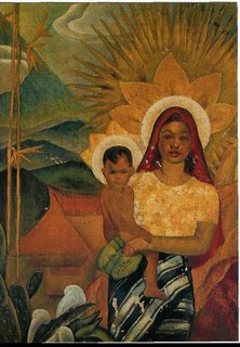 Filipina Madonna and Child