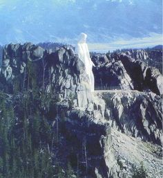 Our Lady of The Rockies ~ Montana- 90 ft. tall