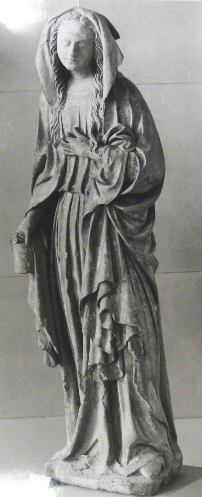 Magdalena Paris, Musée du Louvre. prov. d'Ancemont, pierre, 1er tiers du XVe siècle.