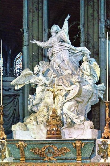 Assumption of the Blessed Virgin Mary, Chartres Cathedral, France