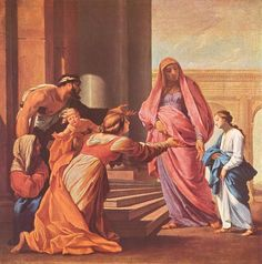 Eustache Le Sueur- Presentation of Mary