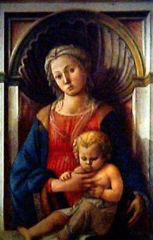 Madonna and Child - Fra Filippo Lippi -