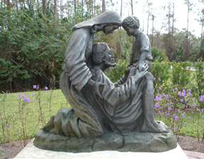 Stunning Holy Family Sculptures