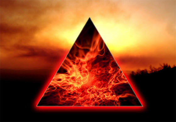 Family: Living Within a Triangle ofLight