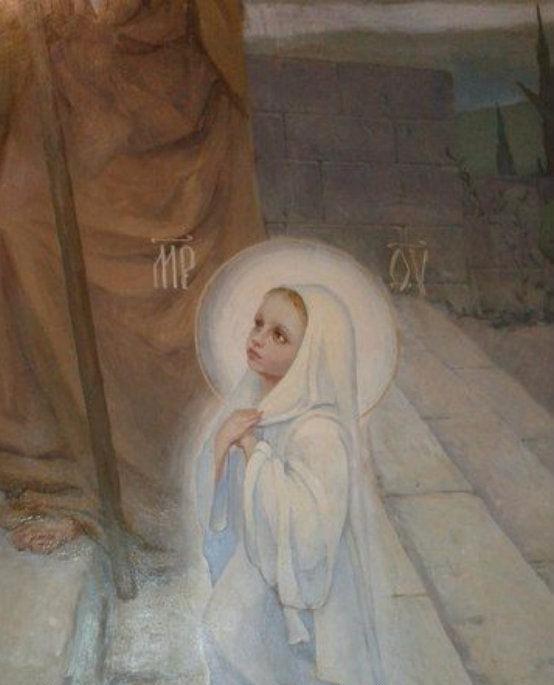 Art Celebrates The Presentation ofMary