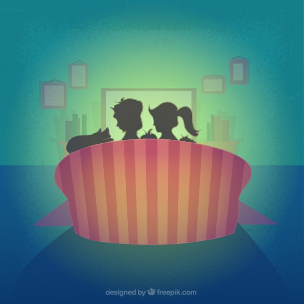 family-silhouette-on-the-sofa_23-2147514143