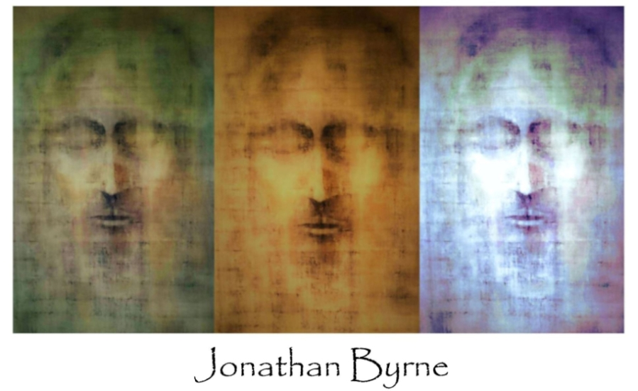An Interview With Artist Jonathan Byrne and The Face of Christ