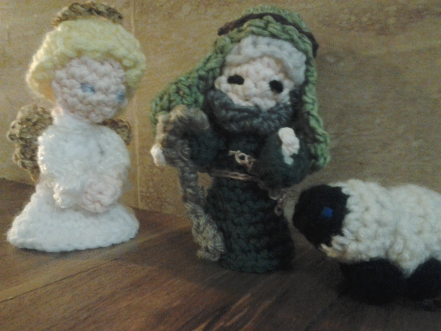 Crocheting For An Atrium of The Catechesis of the Good Shepherd