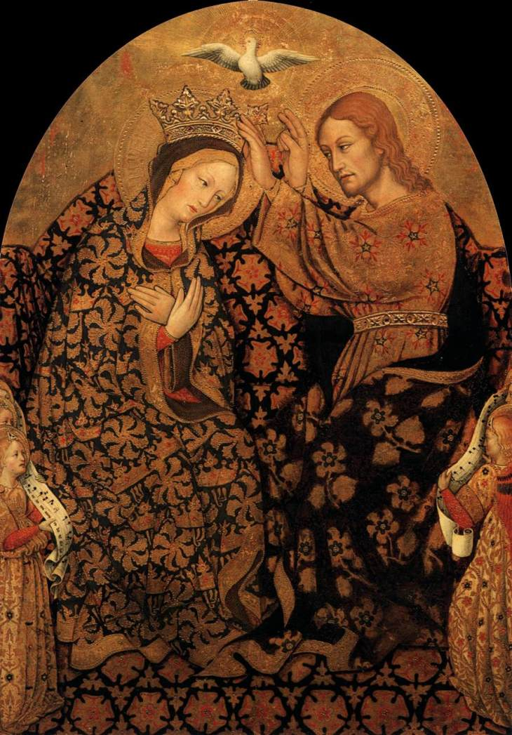 Antonio da Fabriano Coronation of the Virgin 1452