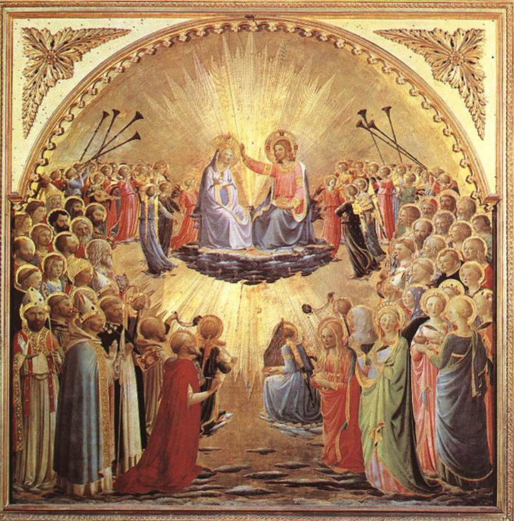 Angelico, Coronation of the Virgin 1434f.jpg