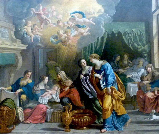 Art History Reveals The Nativity of Mary