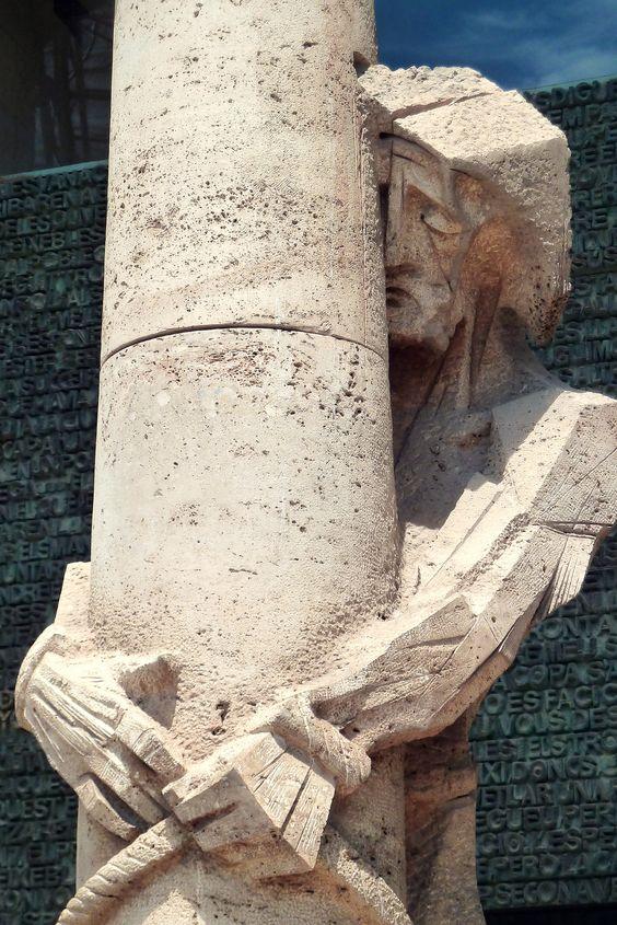 A Photo Essay: The Passion Façade at Basílica de la SagradaFamilia